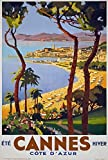 Theissen Vintage 1930's Cannes Cote D'Azur French Travel