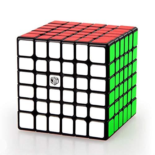 QiYi·X-Man 6x6 Shadow V2 M Magic Cube Magnetic 6x6x6, Noir