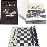 Editions Mathello | Coffret éducatif, Jeu d'échecs avec Livre | Jeu...