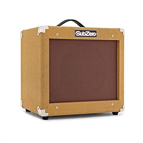 SubZero 35W Vintage Guitar Amplifier with Spring Reverb Drive & EQ