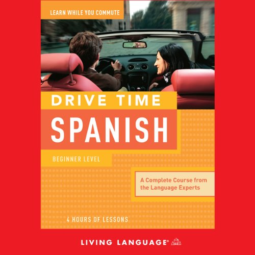 Drive Time Spanish audiobook cover art