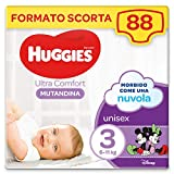 Huggies - Braguita pañal, Talla 3 violeta de 6-11 kg (Pack 2x44), 88 unidades