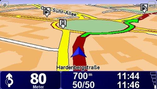Tomtom-XL-2-IQ-Routes-Edition-Traffic-Navigationssystem-inkl-TMC-109-cm-43-Zoll-Display-EasyMenu-Fahrspurassistent