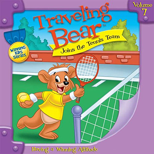 Traveling Bear Joins the Tennis Team audiobook cover art