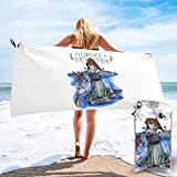 Yuanmeiju Florence and The Machine - Toalla de secado rápido, ligera, absorbente, para playa, para viajes, natación, piscina, yoga, gimnasio