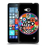 Head Case Designs Offizielle The Who Collage Kreis 2019 Album Harte Rueckseiten Huelle kompatibel mit Microsoft Lumia 640 / Dual SIM