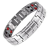 Lifestyle Titanium Magnetic Therapy Bracelet Pain Relief for Arthritis and Carpal Tunnel Magnets