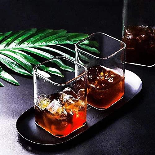 2 vasos de cóctel, copas de cristal de alta calidad, copas de cóctel transparente específicas para bebida, gafas de estilo antiguo, ideales para el hogar, restaurante, eventos y fiestas