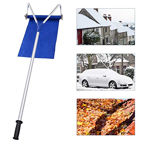 Review Of ADDISON Roof Snow Rake, Snow Shovel, 20 Ft with Adjustable Telescoping, Rooftop Handle Rem...