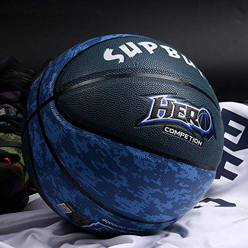 Learn More About Sports Goods No.7 Basketball Match, MC-806 Blue and Black, No. 7 Basketball (Standa...