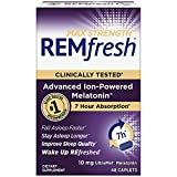 REMfresh Max Strength 10mg Melatonin Drug-Free Sleep Aid Supplement, 48 Caplets