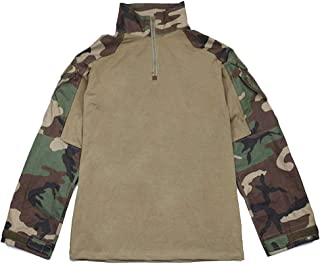 G3 Combat Shirt Rapid Assault Long Sleeve Tactical Airsoft Clothing Military Paintball Gear Multicam Camouflage