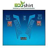 Ecoshirt HN-GKXH-0T0T Pegatinas Horquilla Fork Rockshox Xc30 2016 Am34 Stickers Aufkleber Decals Adesivi Bike BTT MTB Cycle, Azul 26' y 27.5'