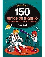 150 enigmas y retos de ingenio: Para niños y niñas. Juegos de lógica y Acertijos divertidos para aprender en Familia. Libro de Actividades infantiles (No ficción ilustrados)