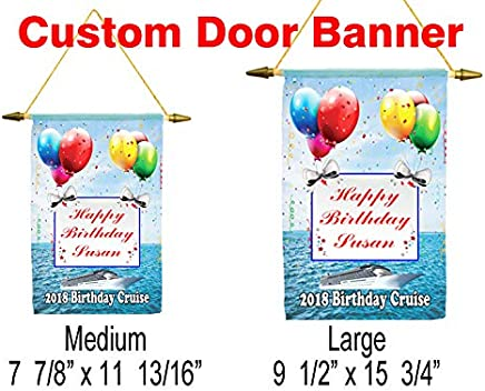 Cruise ship door banner. Customization available for a unique banner!