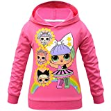 Rainbow Dolls Kitty Queen Unicorn Sudadera con capucha para niñas con capucha
