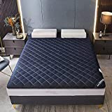 Wildboo Colchón Plegable Grueso, colchón de Tatami japonés, colchón futón con diseño Acolchado ergonómico, 5cm Grueso...