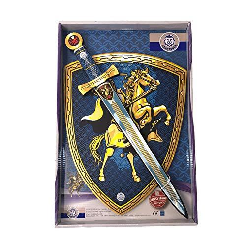 Liontouch 29400LT Set di Pezzi per Costume da Cavaliere per Bambini | Linea di Costumi con Spada e Scudo in Schiuma