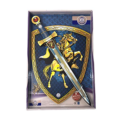 Liontouch 29400LT Disfraz de Caballero de Juguete para niños | Línea de Disfraces con Espada y Escudo de Espuma