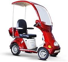 EWheels (EW-54) 4-Wheel Full Covered Scooter w/ Electromagnetic Brakes, Red - BMC-EWH EW-54R