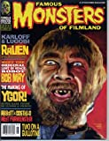 Famous Monsters of Filmland Magazine 222 BELA LUGOSI Lost in Space THE RAVEN Two On A Guillotine ABBOTT & COSTELLO MEET FRANKENSTEIN July 1998