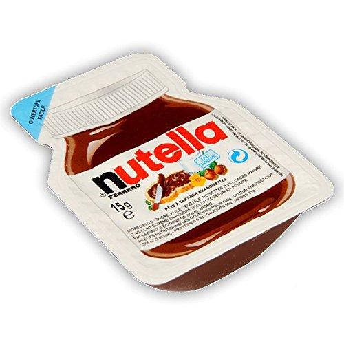 25 barquettes Nutella 15 grammes