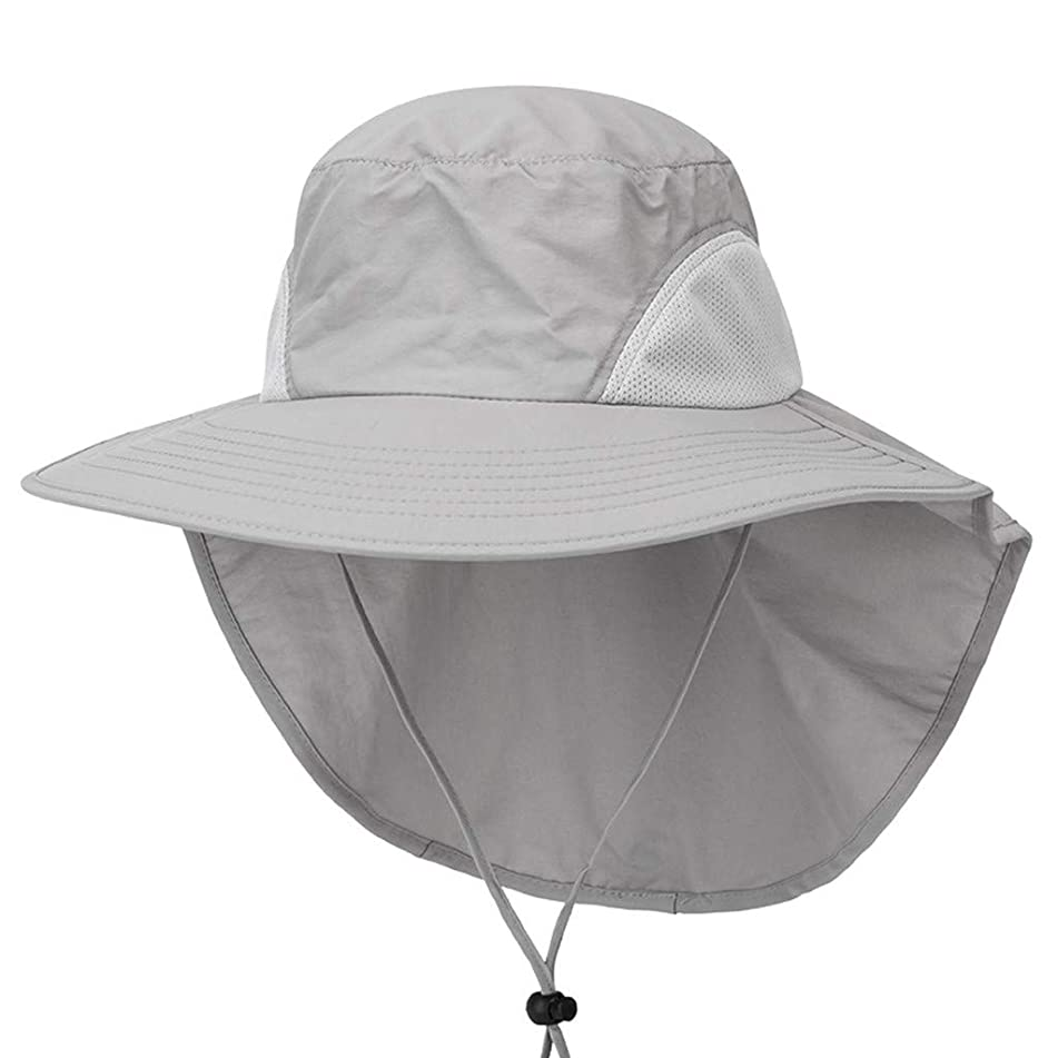 IAMUP Sun Protection Visor Waterproof Hat Breathable Outdoor Hat Cloak Fishing Hat Casual Beach Hat