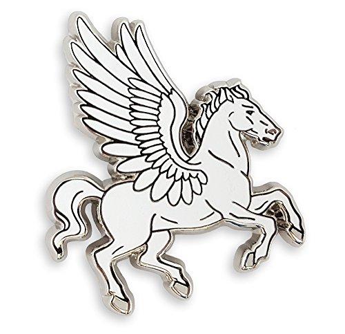 Pinsanity Pegasus Flying Horse Enamel Lapel Pin