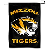 College Flags & Banners Co. Missouri Tigers Black Garden Flag