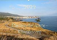 Camino del norte - Kuestenweg (Wandkalender 2022 DIN A2 quer): Pilgerweg entlang der spanischen Nordkueste von Irun nach Santiago de Compostela (Monatskalender, 14 Seiten )
