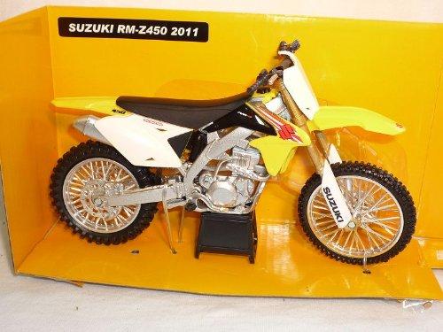 New Ray Suzuki Rm-z450 Z 450 2011 Dirt Bike Gelb Enduro 1/12 Motorradmodelle Motorrad Modell