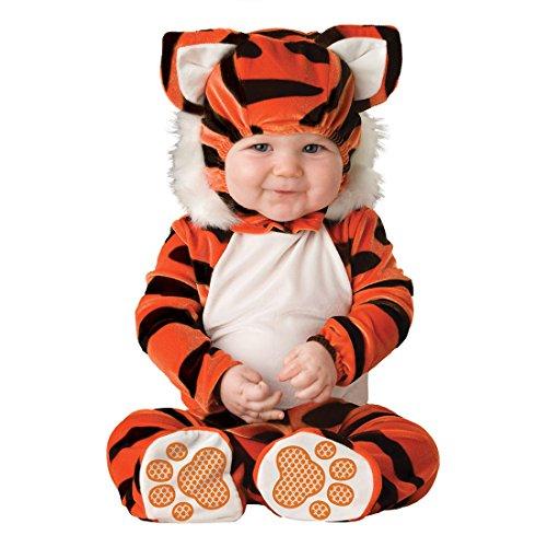 YYF Baby Jungen Mädchen Kleinkinder Animal Kostüm Halloween Party Jumpsuit Winter Strampler Tiger 80cm