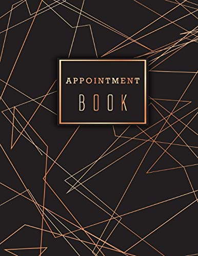 Appointment Book: Undated Daily Hourly Planner Appointment Calendar with Time 15 Minute Increments 8AM to 9PM Weekly Monday to Friday 6 Column ... Beauty Parlours and Business Time Management