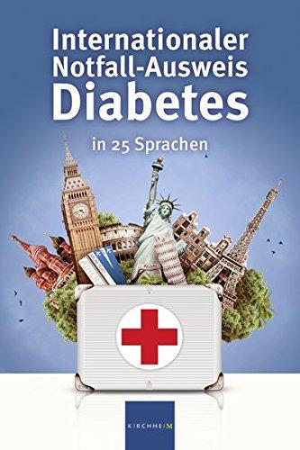 Internationaler Notfall-Ausweis Diabetes in 25 Sprachen