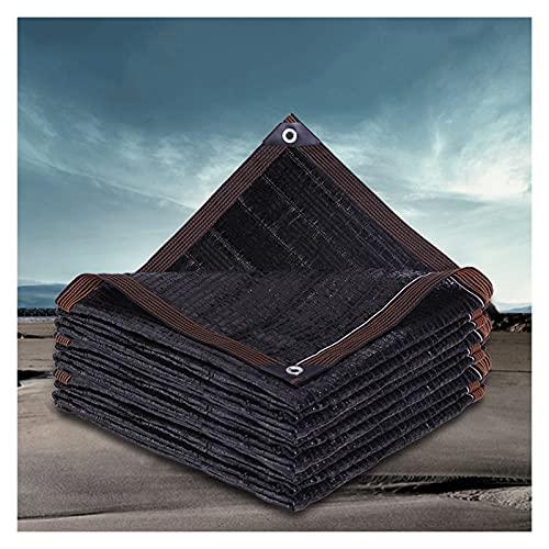 Telas para Toldos Malla de sombreado de Sol Negro, 95% de Malla de sombreado UV, Tarjetas Tolera, Tienda de jardín, Plantas y Flores, Casa de Mascotas al Aire Libre (Size : 4x12m)