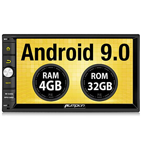 PUMPKIN Android 9.0 Double DIN