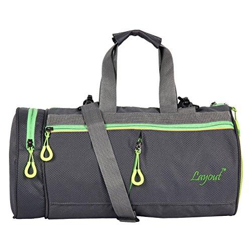 Premium Quality Gym Bag for Men/Women-Grey