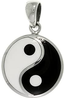 Best yin yang pendant sterling silver Reviews