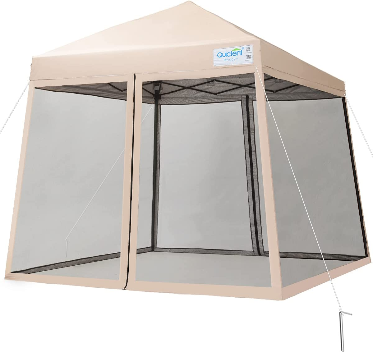 Quictent 9'x9' Attention brand Easy Set up Outdoor Canopy Mosqu Tent Max 76% OFF Pop with