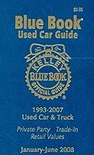 Kelley Blue Book Used Car Guide--Jan-June 2008 (Kelley Blue Book Used Car Guide: Consumer Edition)