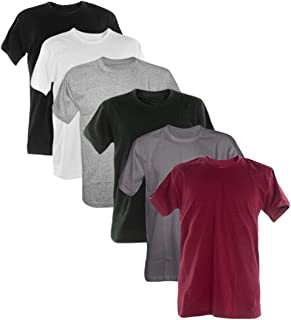 Kit 6 Camisetas 100% Algodão