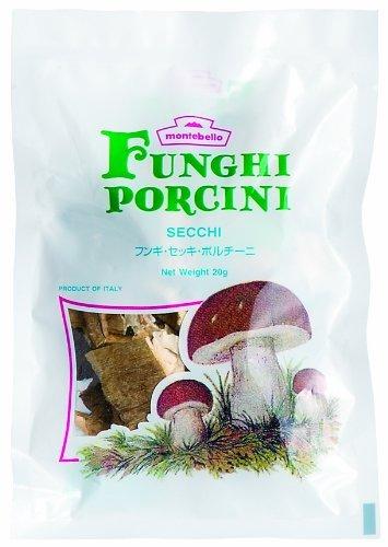 モンテベッロ フンギ・セッキ・ポルチーニ プラ袋 20g【入り数3】