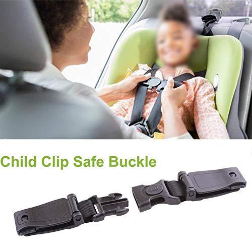 Autositz Brustgurt Clip, Kindersicherheitsgurt Schnalle Gurt Gurt für Kinder, tragbare Kleinkind einstellbare Sperre Tite Guard für Fahrzeug, Zug, Flugzeug
