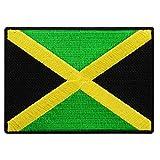 Jamaica Flag Embroidered...image