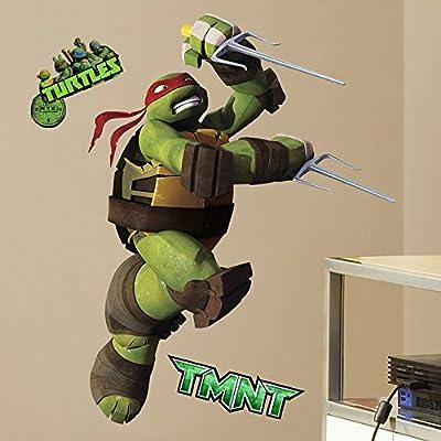 Teenage Mutant Ninja Turtles Peel And Stick Wall Decals Sticker For Boys Kids Room Comic Wall Art Decor