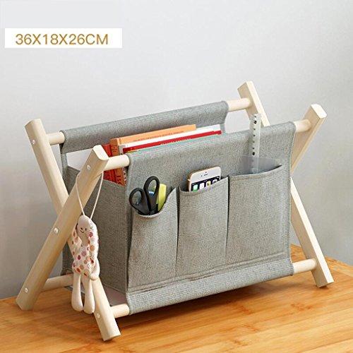 Xuan - Worth Another Gris Couleur Unie Tissu Rangement Rangement Pliant Rangement Multifonctionnel Accueil Petits Choses à Accueillir