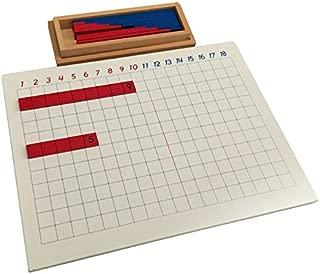 Montessori Addition Strip Board
