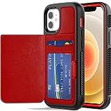 TECHGEAR iPhone 12 Mini Case, Tough Armoured Card Wallet