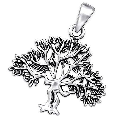 So Chic Joyas - Colgante árbol Plata 925