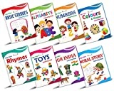 LEARN & COLOR - This copy coloring book set will help the curious young minds to learn without getting bored. The set of 6 books are creatively made to teach kids in a fun and interesting way. This toddlers color books set aims to lay the very founda...